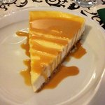 THE FAMOUS CHEESE CAKE!