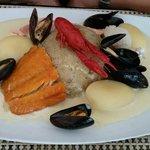 Choucroute de la mer sauce Riesling