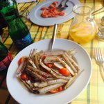 Zuppa di cannolicchi (specialità della casa)