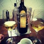 Ende eines gelungenen 1. Abends bei der 2. Flasche Savignon!