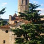 Вид из окна на собор Св.Марии