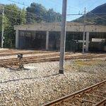 panorama stazione di partenza