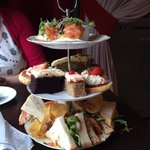 High Tea for two... Could have fed 4!
