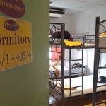 Kamar Dormitory di lantai 4 (isi 6 bed ranjang susun)