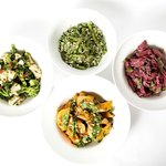 Colourful and flavourful salads
