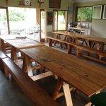 dinner table (inside)