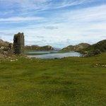 Dunlough Castle at Three Castles Head