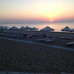 Afandou Beach Sunset