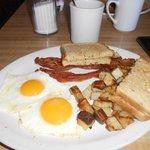 Desayuno excepcional.