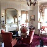 The very spacious Wilmington lounge