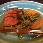 Duck Breast with Polenta and Asparagus