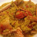 paella con bogavante 1