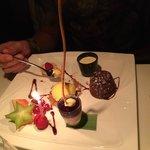 En delikat og smakfull desertkomposisjon