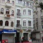 Konak Hotel from main road