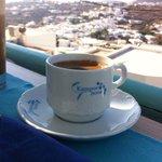 Πρωινός καφές με θέα!!!
