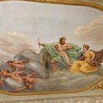 Ceiling fresco in room #1