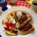 déjeuner du samedi matin