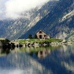 refuge et lac d' Esthom