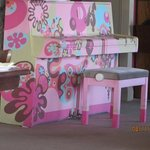 The Pink Elephant's pink piano