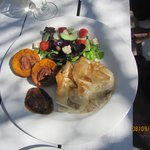 a wonderful meal in the middle of the Karoo