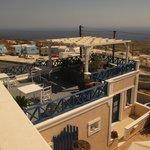 Hotel Thira - terrace
