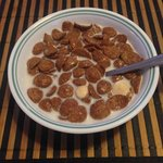 Classic Koko Crunch breakfast cereal. Loved it.