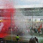 Festa per la premiazione post-Formula 1