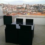 View of Porto from room's terrace
