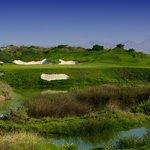 Al Mouj Golf, 4th green
