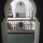 interior design of the Riad