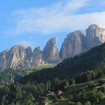 Kamer met uitzicht op de bergen