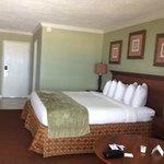 Bedroom from balcony