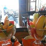special fruitsalat of meltemi!!!