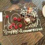 Surprise Anniversary Cake