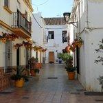 Calle Malaga w Esteponie