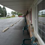 Front area of motel