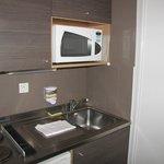 kamers in hotel ,keuken