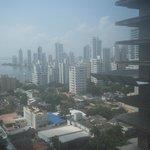 Vista de la ciudad - limitada por construcción lindera