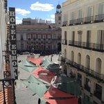 Puerta del sol from room balcony