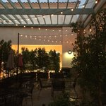Pitta Pattio at night!!  Best patio in town!