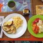 Breakfast- delicious!