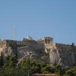vista sull'Acropoli dalla Terrazza