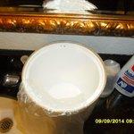 Mold on ice bucket
