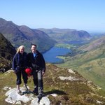 View from Fleetwith Pike after our via Ferrata climb