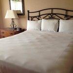 My hilariously lumpy Santa Fe Station bed – unretouched iPhone photo