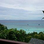Aussicht vom Balkon, Zimmer 103