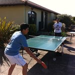 Table Tennis leading onto Hotel Grounds