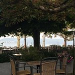 Outside eating area along the Bodensee