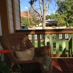 Our porch off the bedroom