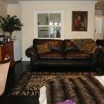 Sofa and sitting area